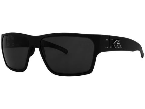 GATORZ DELTA - MATTE BLACK - SMOKED POLARIZED