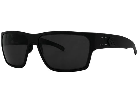 GATORZ DELTA - MATTE BLACKOUT - SMOKED POLARIZED