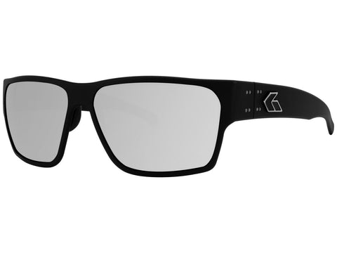 GATORZ DELTA - MATTE BLACK - SMOKED POLARIZED W/ CHROME MIRROR