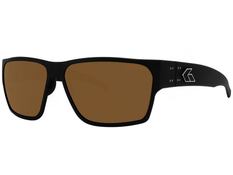 GATORZ DELTA - MATTE BLACK - BROWN POLARIZED