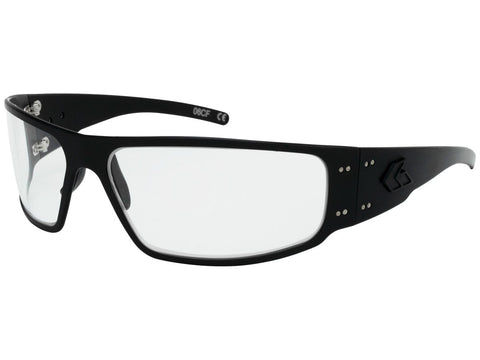 GATORZ MAGNUM - BLACKOUT - CLEAR w/ INFERNO PHOTOCHROMIC LENS