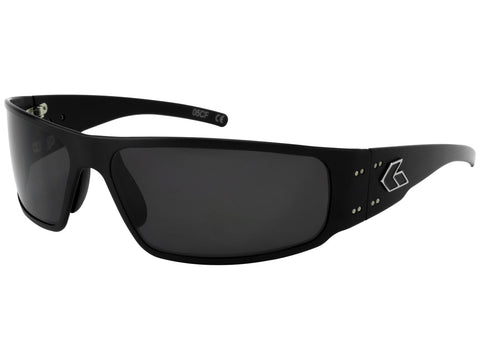 GATORZ MAGNUM 2.0 (ASIAN FIT) - BLACK - SMOKED POLARIZED LENS