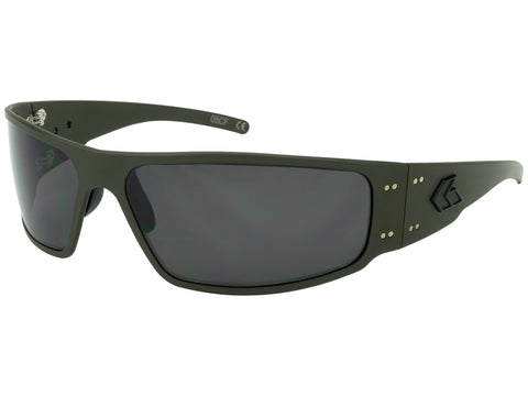 GATORZ MAGNUM 2.0 (ASIAN FIT) - OD GREEN CERAKOTE - SMOKE POLARIZED LENS