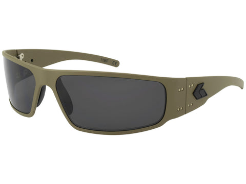 GATORZ MAGNUM 2.0 (ASIAN FIT) - TAN CERAKOTE - SMOKE POLARIZED LENS