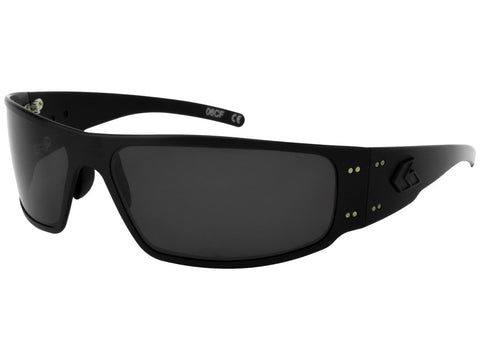 GATORZ MAGNUM - BLACKOUT - SMOKED POLARIZED LENS