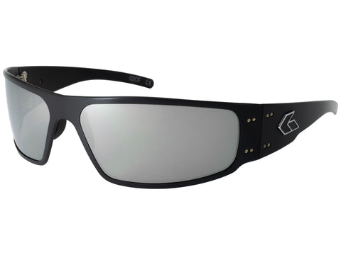 GATORZ MAGNUM - BLACK - SMOKED W/ CHROME LENS