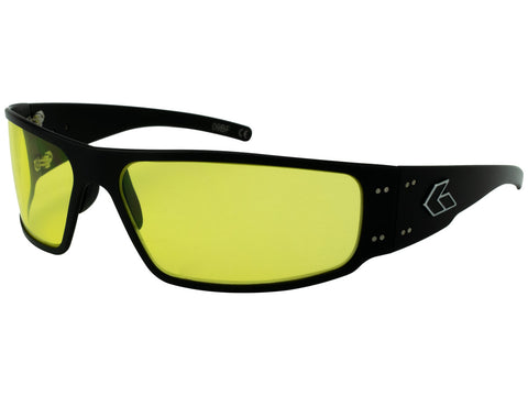 GATORZ MAGNUM - BLACK - YELLOW LENS