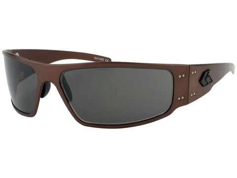 GATORZ MAGNUM - COPPER BLACKOUT - SMOKED POLARIZED LENS