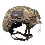 TEAM WENDY EXFIL BALLISTIC VISOR: COYOTE BROWN - SIZE 2 XL - RAIL 3.0 COMPATIBLE ONLY