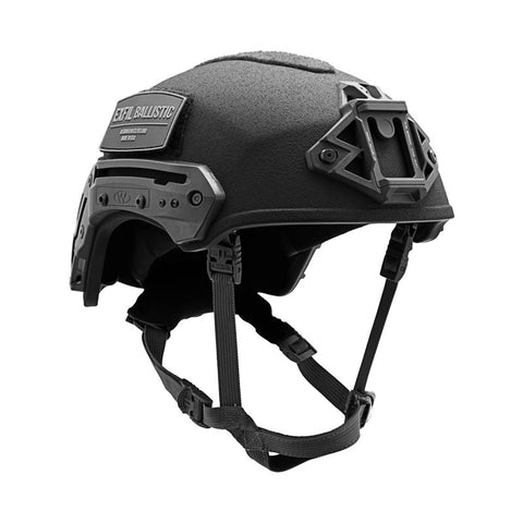 TEAM WENDY EXFIL BALLISTIC: BLACK - SIZE 2 XL - RAIL 2.0 - LED (Left Eye Dominant) RETENTION