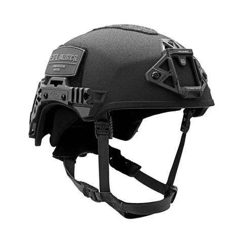 TEAM WENDY EXFIL BALLISTIC SL: BLACK - SIZE 2 XL - LED (Left Eye Dominant) RETENTION