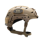 TEAM WENDY EXFIL CARBON: COYOTE BROWN - SIZE 1 M/L - Rail 3.0