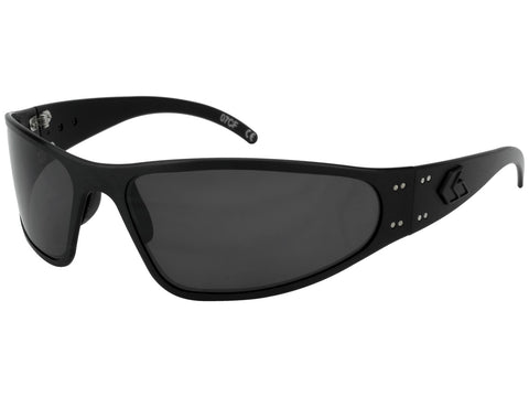GATORZ WRAPTOR - BLACKOUT - SMOKED POLARIZED LENS