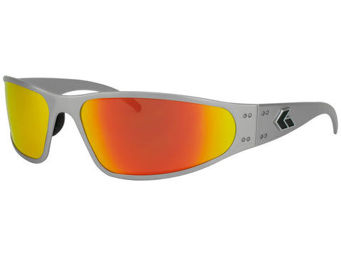 GATORZ WRAPTOR - BRUSHED - SUNBURST MIRRORED POLARIZED