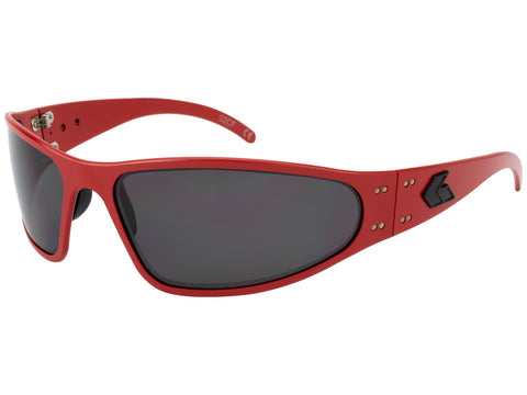 GATORZ CERAKOTE - WRAPTOR - RED - SMOKED POLARIZED LENS