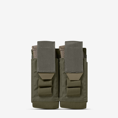 Carrier: Double Multi-Caliber Rifle Magazine Pouch - Color: Ranger Green