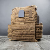 INTEGRATED Plate Carrier BLACK (Carrier Only - Accessories Sold Separately)