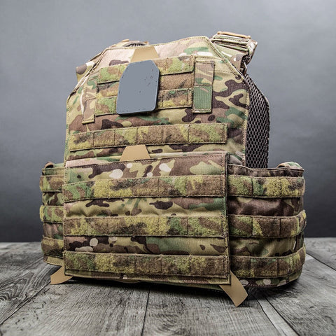 INTEGRATED Plate Carrier MULTICAM (Carrier Only - Accessories Sold Separately)