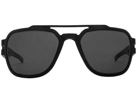 GATORZ STARK - MATTE BLACKOUT - SMOKED POLARIZED