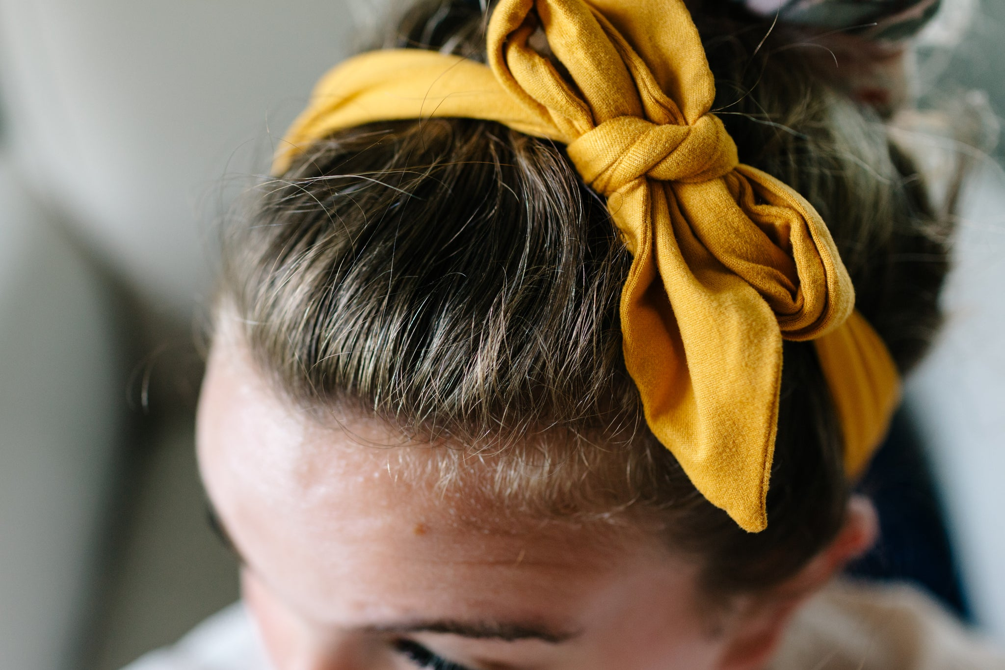 Scrap hair ties! (STRETCHY FABRIC)