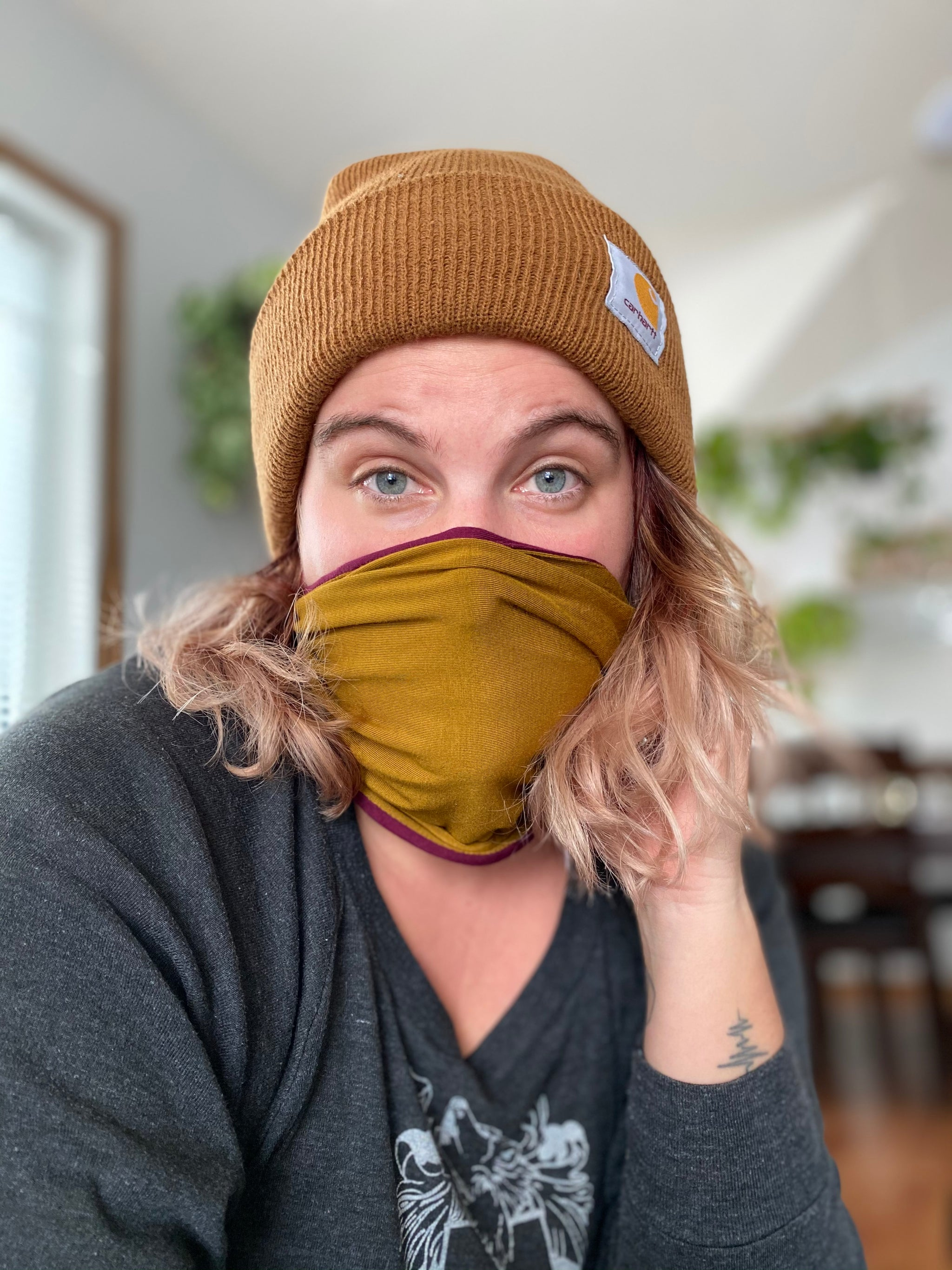 SCRAP Face Covering/neck warmer/headband (non-medical)