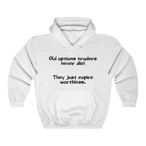 "Open image in slideshow, ""Worthless Options"" - DJ™ Hooded Sweatshirt"
