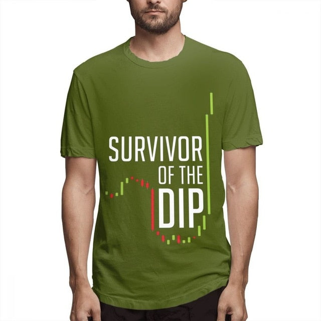 """Survivor Of The Dip"" Comfortable T-shirt"