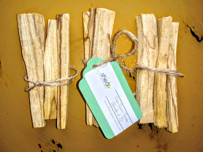 Palo Santo Sticks (Bundle of 3)