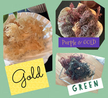 Load image into Gallery viewer, RAW Wild Crafted Sea Moss (YOU HAVE TO MAKE THE GEL ON YOUR OWN)