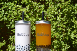 Reusable Bubble Tea Cup and Straw