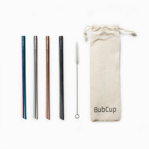 Straw Collection Set - BubCup