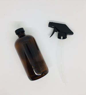 Replacement Labelled Glass Bottle & Spray Nozzle