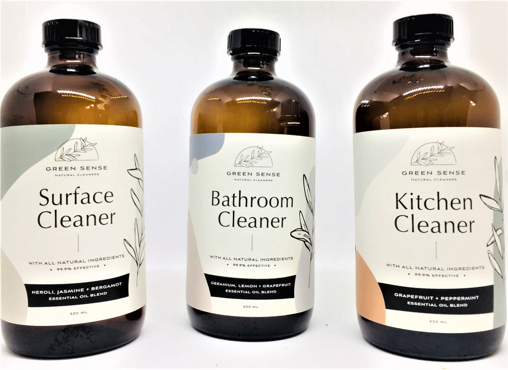 Refill / Replacement Natural Cleaners Trio