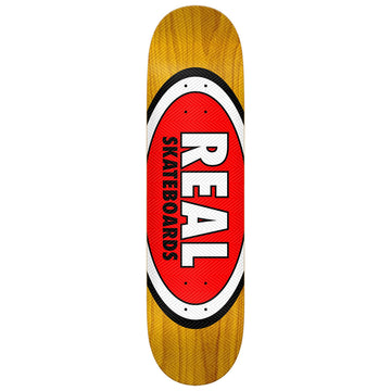Real Herman AM Oval Skate Deck in 8.5