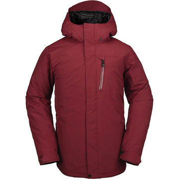 2020 Volcom L Gore Text Snow Jacket in Burnt Red