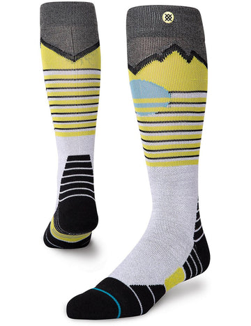 2021 Stance Dawn Patrol 2 Snow Sock in Lime Green