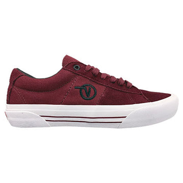 Vans Saddle Sid Pro Skate Shoe in Port Royal and True White