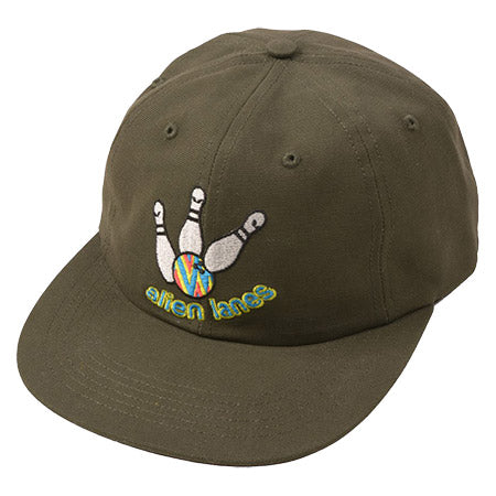 Quasi Alien Lanes Hat in Green