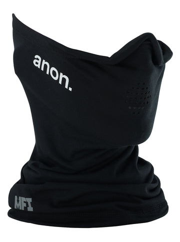 2021 Anon Mens MFI Lightweight Neck Warmer in Black