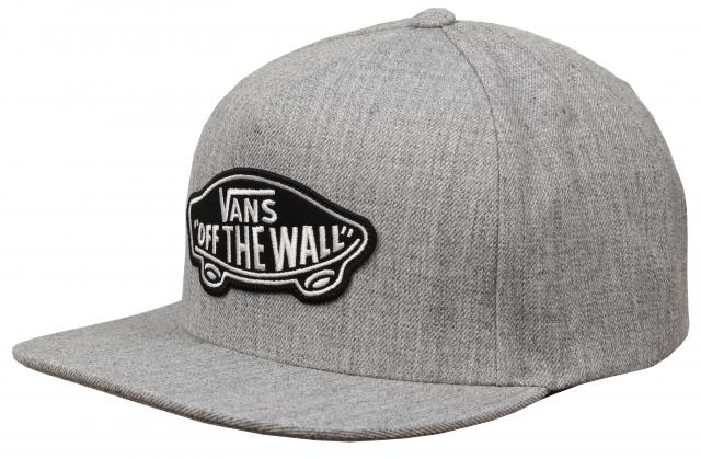 Vans Classic Patch Hat in Heather Grey