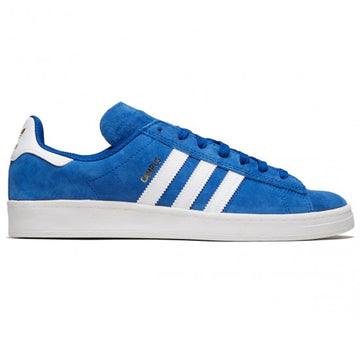 Adidas Campus ADV Skate Shoe in Royal and White