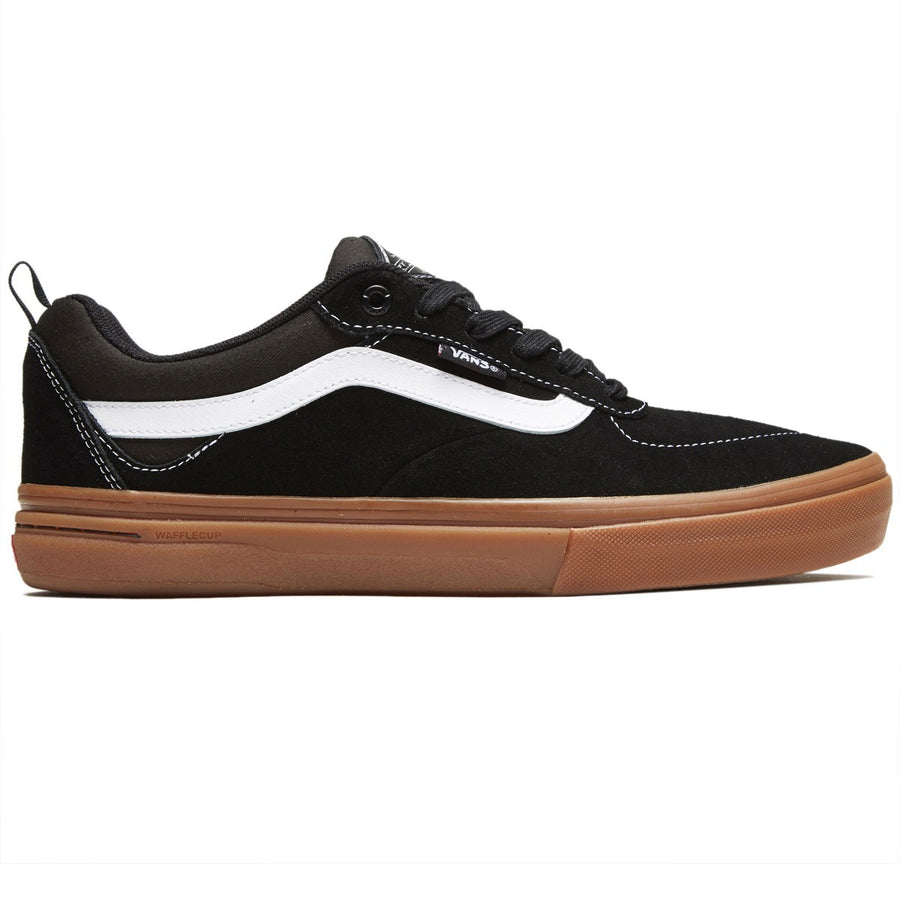 Vans Kyle Walker Pro Skate Shoe in Black and Gum