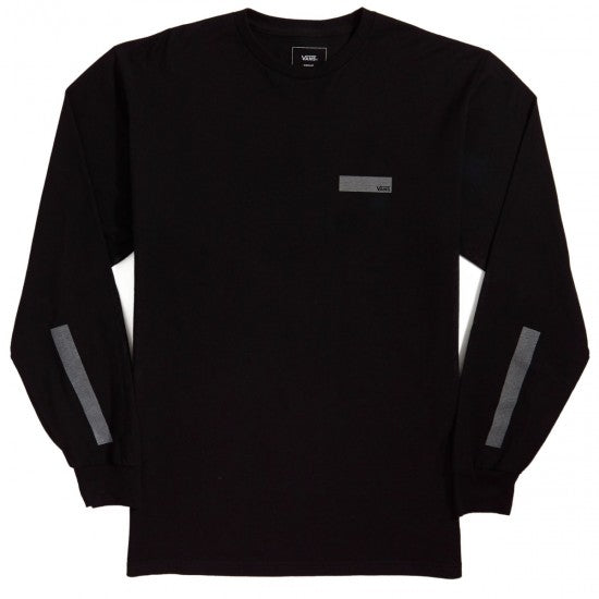 Vans Pro Skate Reflective Long Sleeve T Shirt in Black
