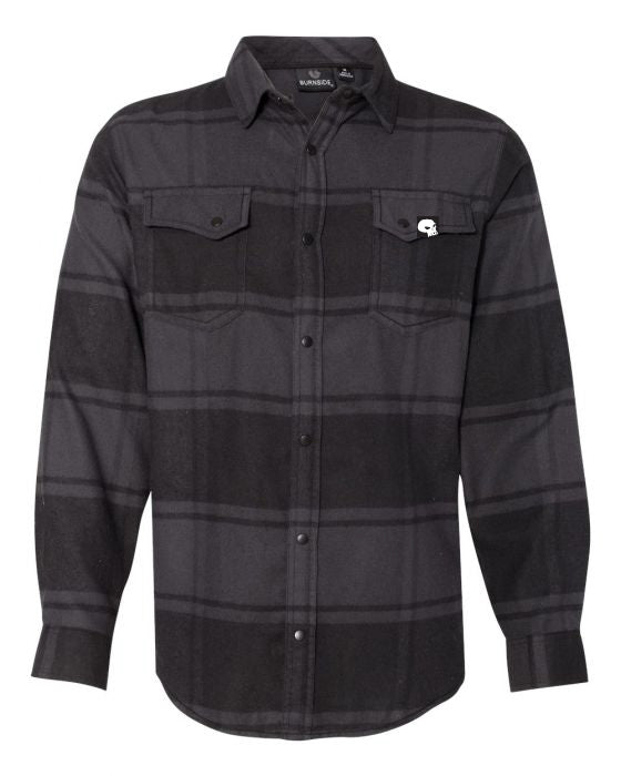 Milosport Bonneville Flannel in Black Plaid