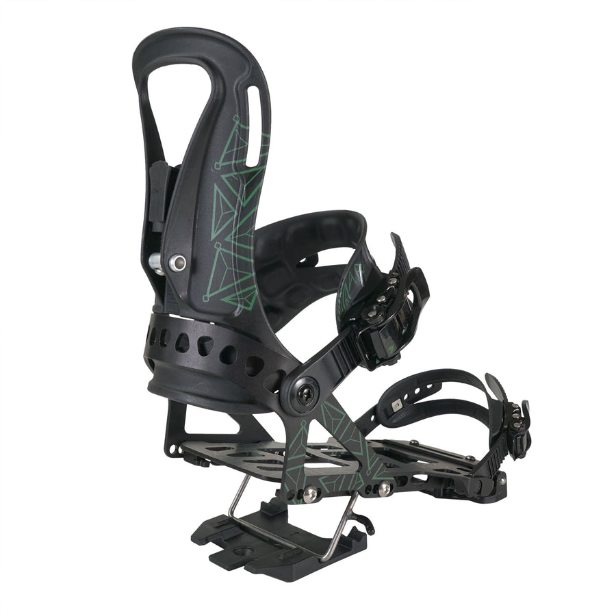2021 Spark R&D Arc Splitboard Binding in Forest Green