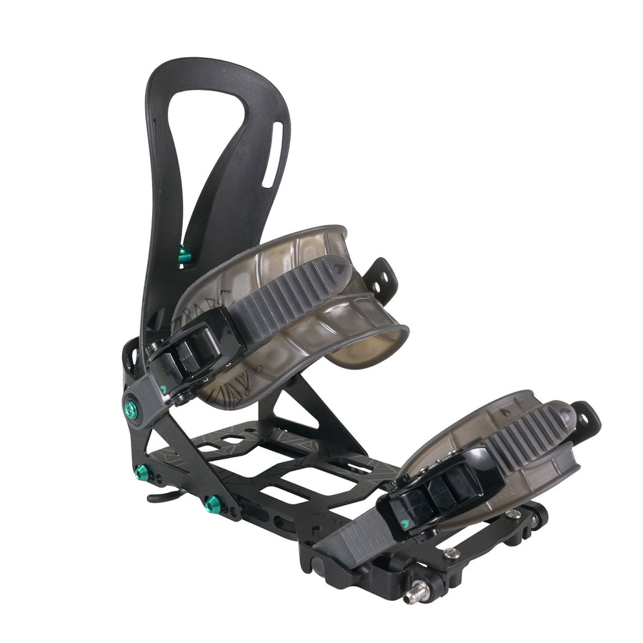 2021 Spark R&D Surge Pro Womens Splitboard Binding in Black