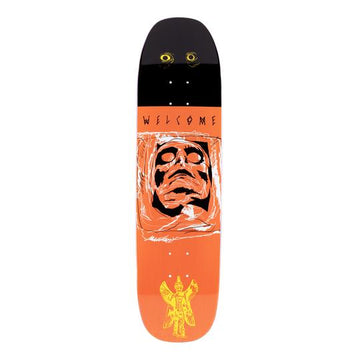 Welcome Pazuzu on Son of a Moontrimmer Shape Skate Deck in 8.25