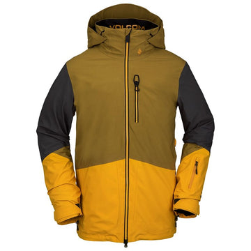2021 Volcom BL Stretch Gore-Tex Jacket in Resin Gold