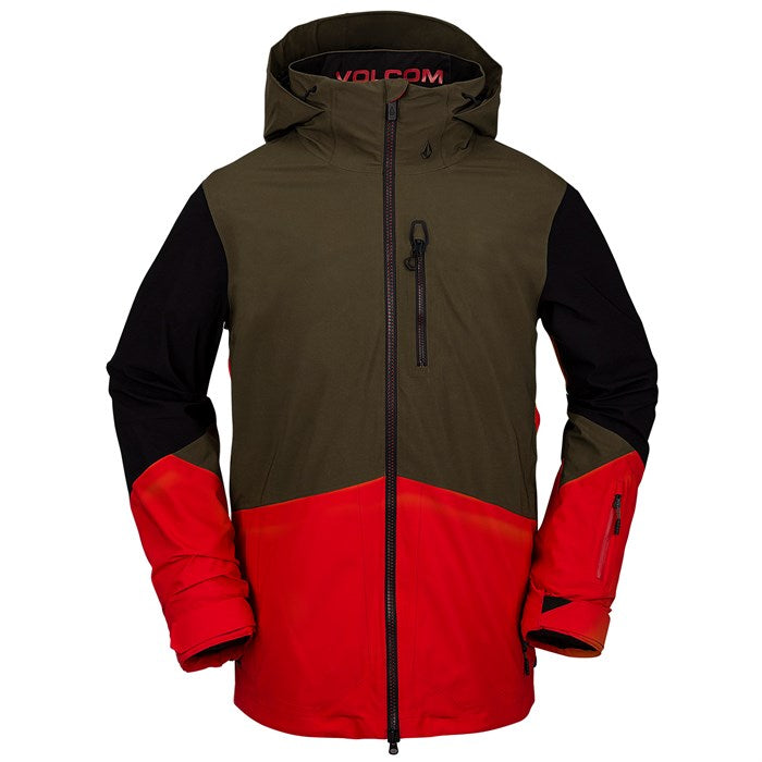 2021 Volcom BL Stretch Gore-Tex Jacket in Red