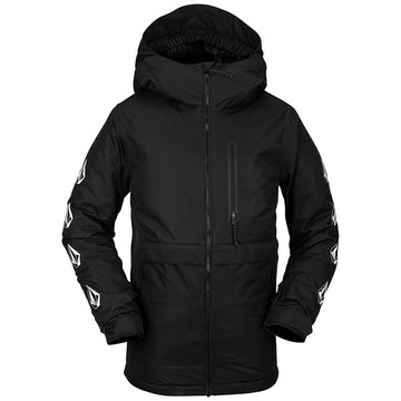 2021 Volcom Kids Holbeck Insulated Jacket in Black